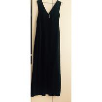 Oferta Vestido Fiesta Negro Usa Escote Espalda Talla 8m