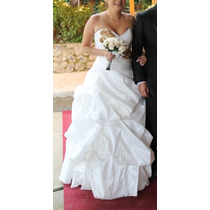 Vendo Vestido De Novia Color Ivory Talla Standard S/. 750.00