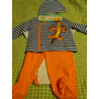3 Pc Disney Bebe Conjunto Casaca Set Original 6-9 Meses