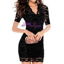 Vestido Elegante Importado Fiesta - En Stock Avybella