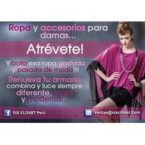 Oix Closet Correa Cadena Cinturon A 35 Soles, Vestido Fiesta