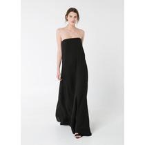 Vestido Largo Talla S Mango Mng 100% Original Nuevo Elle851