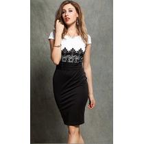 Exclusivo Vestido Elegante Talla M Importado Nuevo En Stock