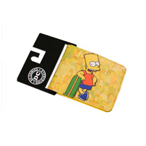 Billetera The Simpsons Bart Hombre Nueva Bioworld Importado