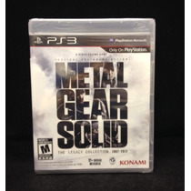 Metal Gear Solid The Legacy Collection Nuevo - Sellado