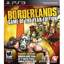 Borderlands: Game Of The Year Edition - Psn Digital