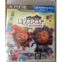 Juego Ps3 Eyepet And Friends 3d Nuevo Y Sellado