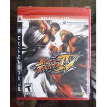 Street Fighter Iv - Ps3 Nuevo Sellado