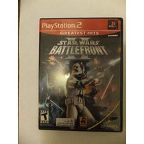 Star Wars Battle Front 2 Para Playstation 2