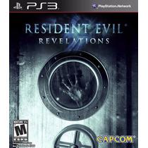 Resident Evil Revelations Ps3 En Manvicio Store!!!