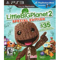 Little Big Planet 2 Special Edition Ps3 Español Juegos Ps3