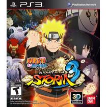Naruto Ultimate Ninja Storm 3 Juegos Ps3 Delivery
