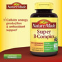 Super Complejo B + Vitamina C 140 Tabletas Marca Nature Made