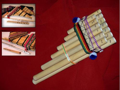 Zampoña Incaica Y Flautas, Afinacion Y Sonido De Calidad