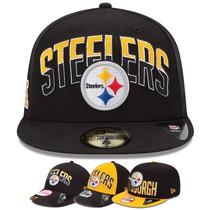 Gorra New Era Pittsburgh Steelers Moda Urbana 7 5/8=60.6ctms