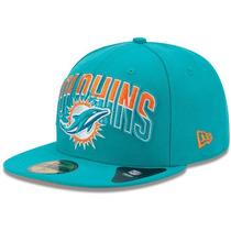 Gorra New Era Miami Dolphins De Nino Talla 6 1/2 = 52ctms