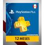 Membresía Playstation Plus 1 Año 12 Meses Arg Ps4 - Scheda   SCHEDAPERU