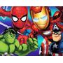 Kit Imprimible Escuadron De Super Heroes Diseñá Tarjetas 2x1 | ONLINEMANUALES PE