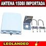 Antena Panel Sectoria15dbi Importada Internet Gratis Pigtail   LEOLANDEO