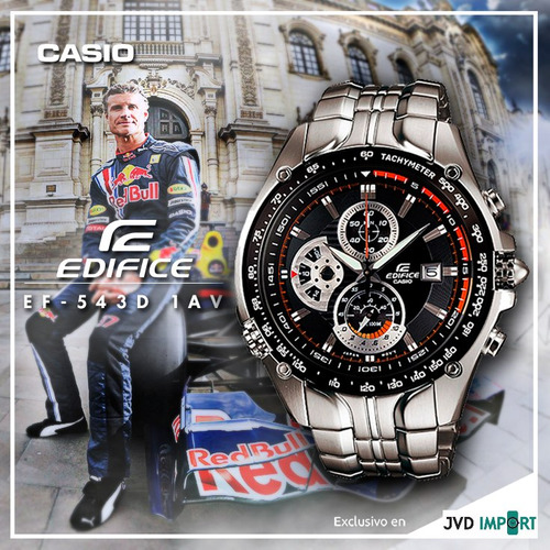 a141ef7f3291 ... comprar Reloj Casio Edifice Ef-543d-1av Sebastian Vettel - Original ...