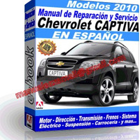 Manual de Reparacion Taller Chevrolet Captiva 2010