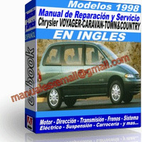 Manual de Reparacion Taller Caravan Voyager Town Country 1998