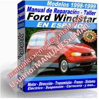 Manual de Reparacion Taller Ford Windstar 1998-1999