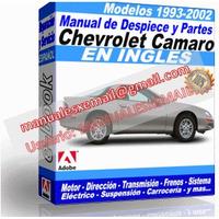Manual de Despiece y Partes Chevrolet Camaro 1993-2002
