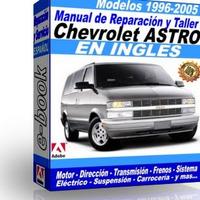 Manual de Reparacion Taller Chevrolet Astro 1996 1997 1998 1999 2000 2001 2002 2003 2004 2005