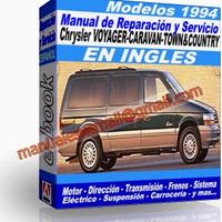 Manual de Reparacion Taller Caravan Voyager Town Country 1994