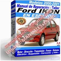 Manual de Reparacion Taller Ford Ikon 2000-2001