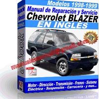 Manual de Reparacion Taller Chevrolet Blazer 1998-1999