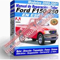 Manual de Reparacion Taller Ford F-150 F-250 2000-2001