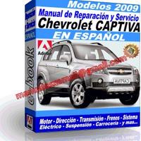 Manual de Reparacion Taller Chevrolet Captiva 2009