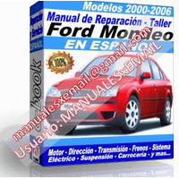 Manual de Reparacion Taller Ford Mondeo 2002