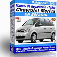 Manual de Reparacion Taller Chevrolet Meriva 2002 2003 2004 2005 2006