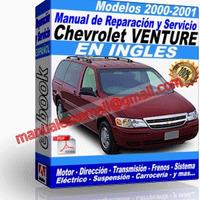 Manual de Reparacion Taller Chevrolet Venture 2000-2001